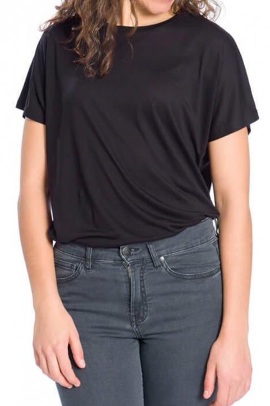 Essential T-Shirt TENCEL™ Feminine - Black - XS