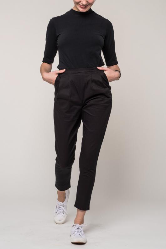 Pants Page - Black - XS