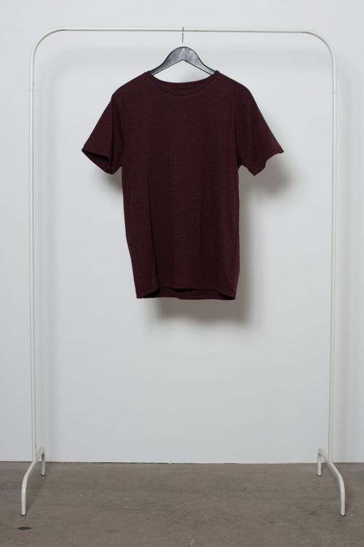 Second Chance T-shirt - Burgundy - L