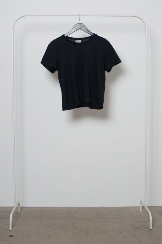 Reused Svart Hampa T-shirt - Svart - S