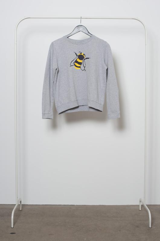 Reused Sweatshirt Bi - Grå - S