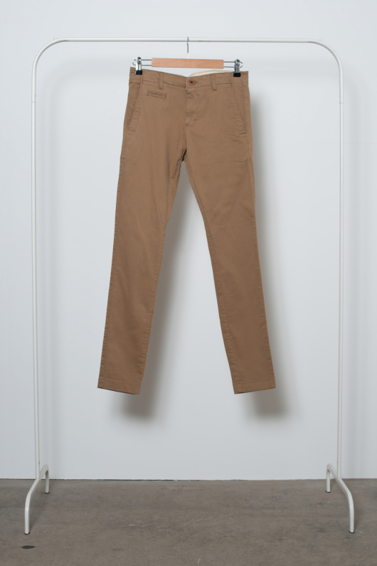 Second Chance Chinos med Stretch - Beige - 28/32