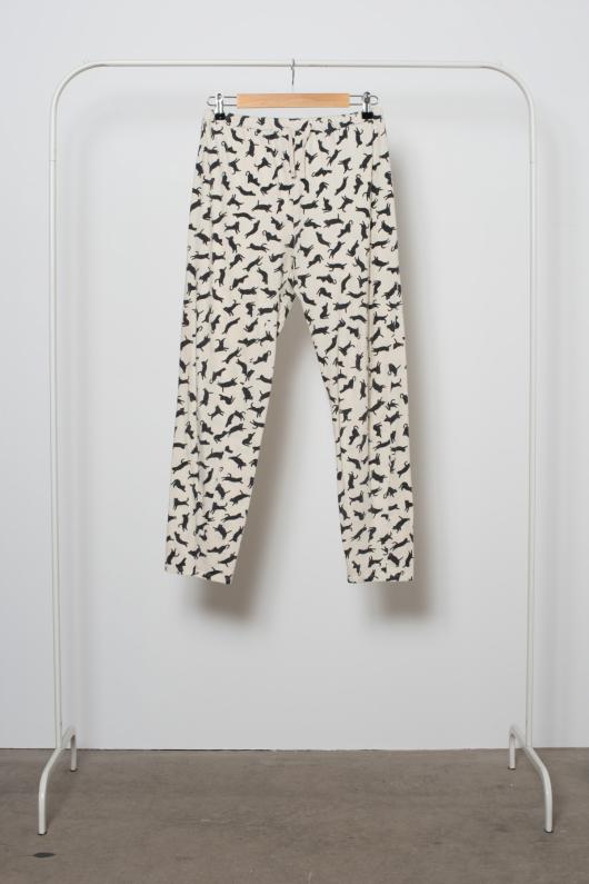 Reused Pyjamasbyxa - Katter - S