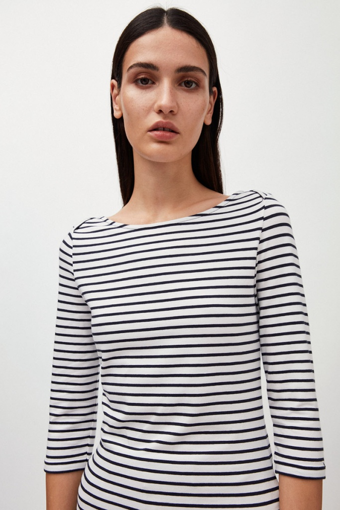 Dalenaa Stripes - Off White/Night Sky - XS