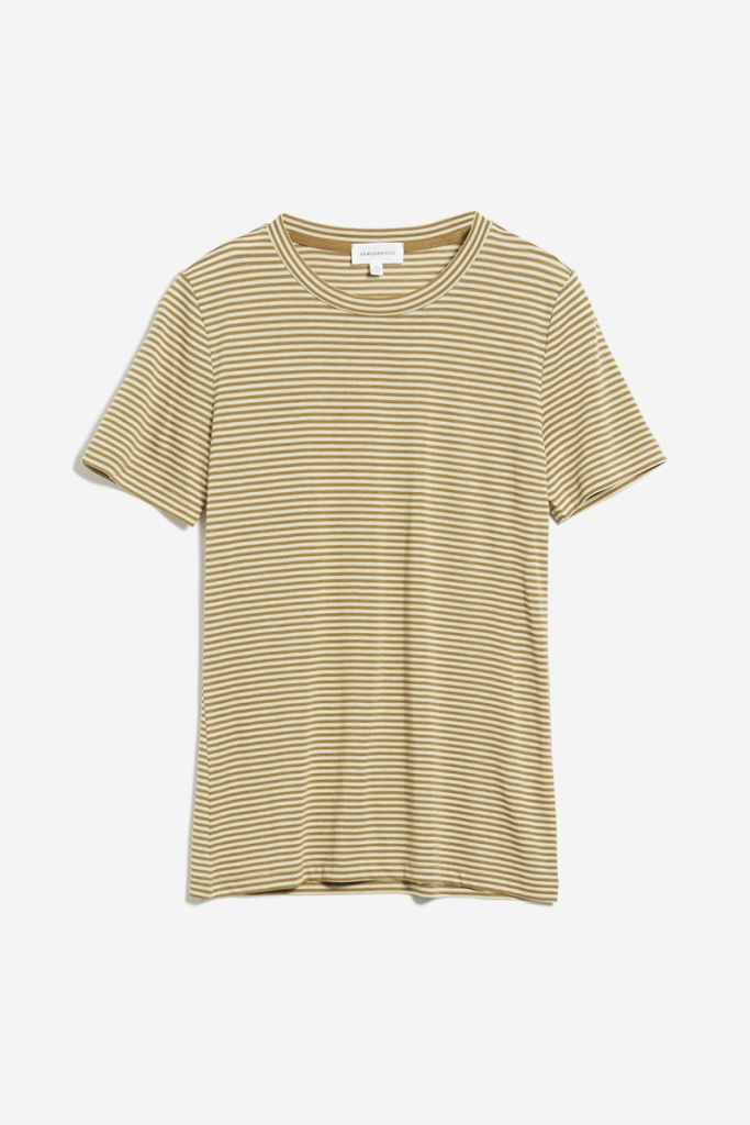 Lidaa Ring Stripes - Golden Khaki/Pistachio