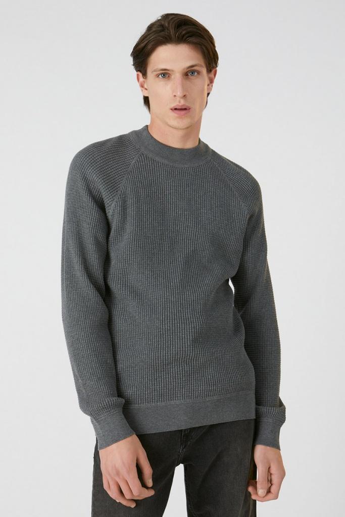 Yaaki - Mid Grey Melange - XL