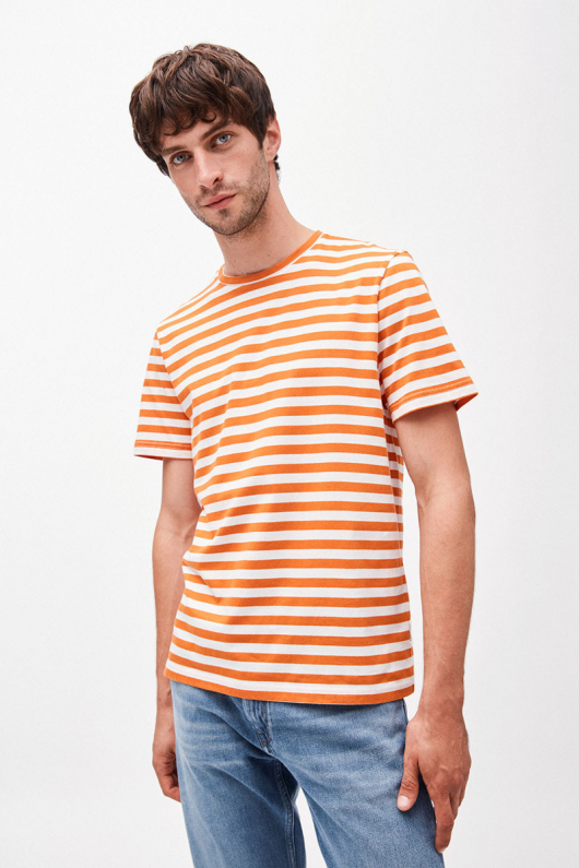 Jaames Breton - Orange/Off White - S