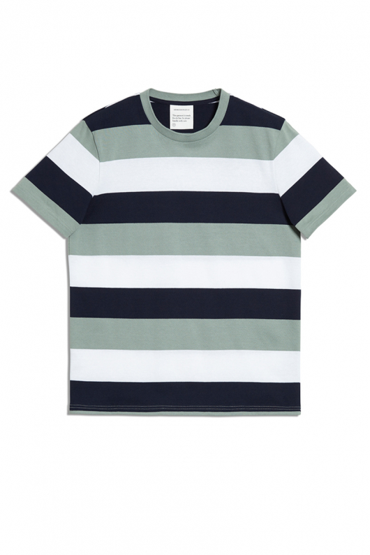 Daarian Block Stripe - Chinois Green/Navy - L