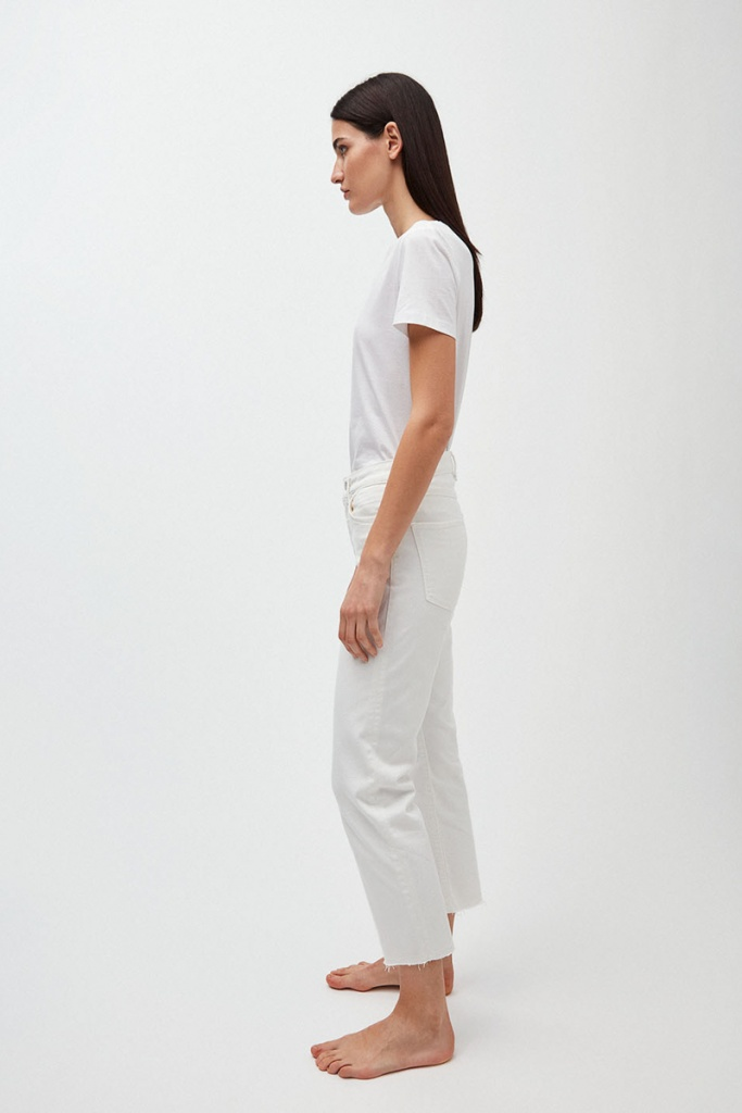 Fjellaa Cropped - Off White