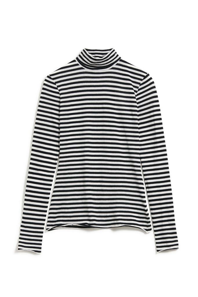 Malenaa Stripes - Black/Sandshell - L