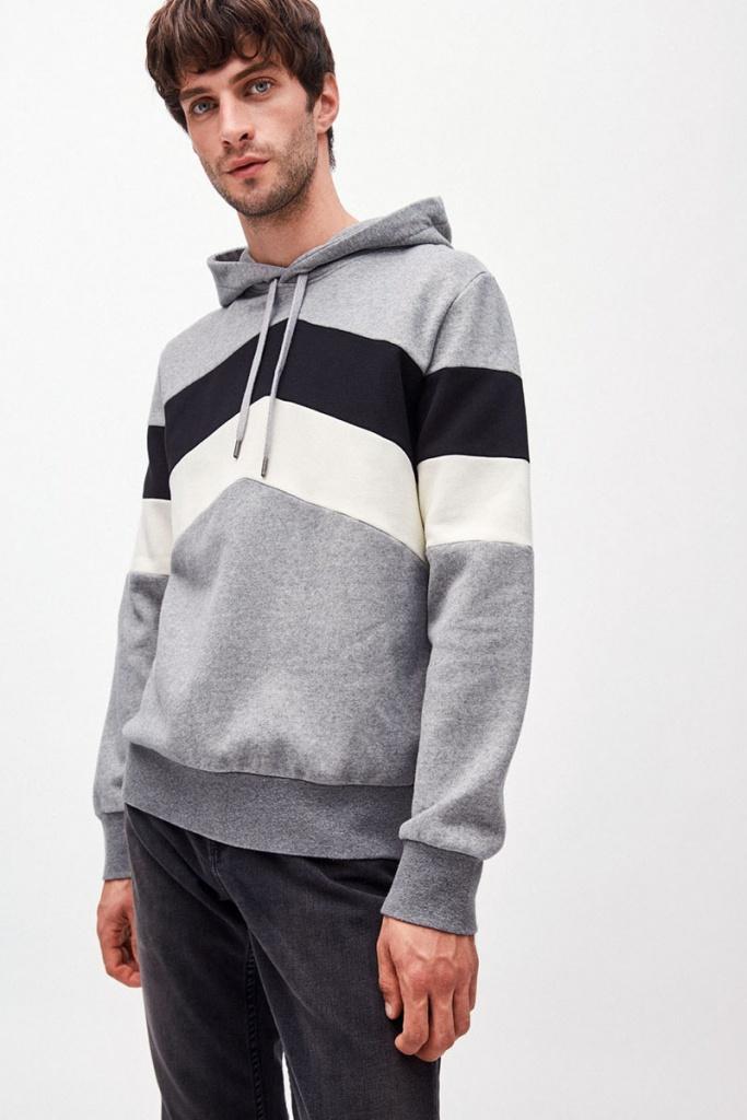 Maarius - Grey Melange/Black - XL
