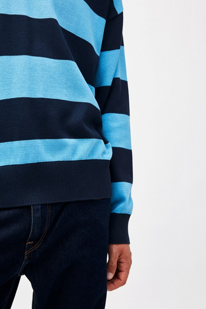 Steraa Stripes - Heritage Blue/Navy