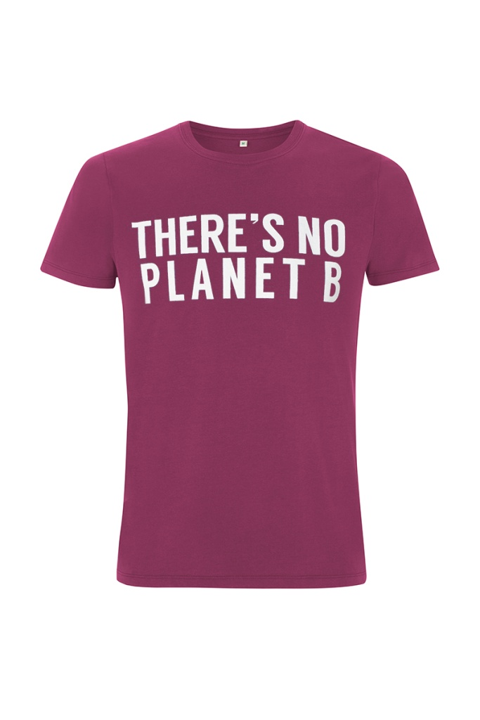 There´s No Planet B Masculine Unisex - Berry
