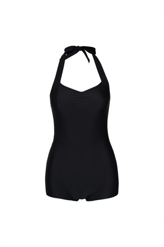 Simple Swimsuit - Black - L