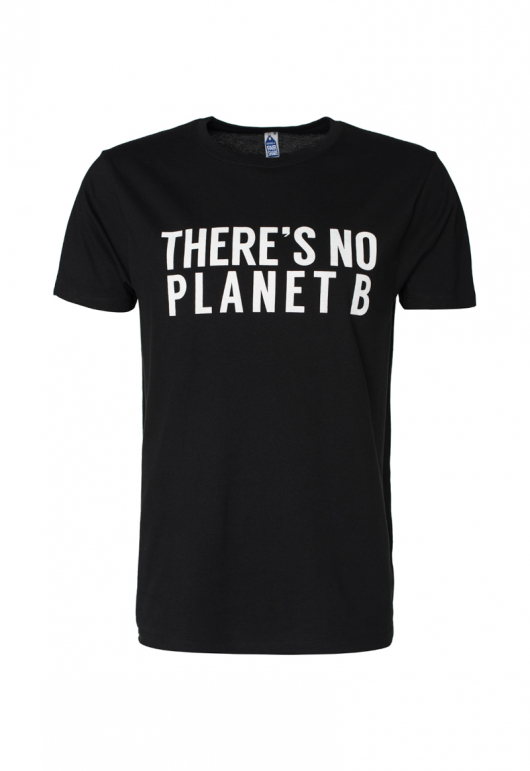 Theres No Planet B Masculine Unisex - Black - XXL