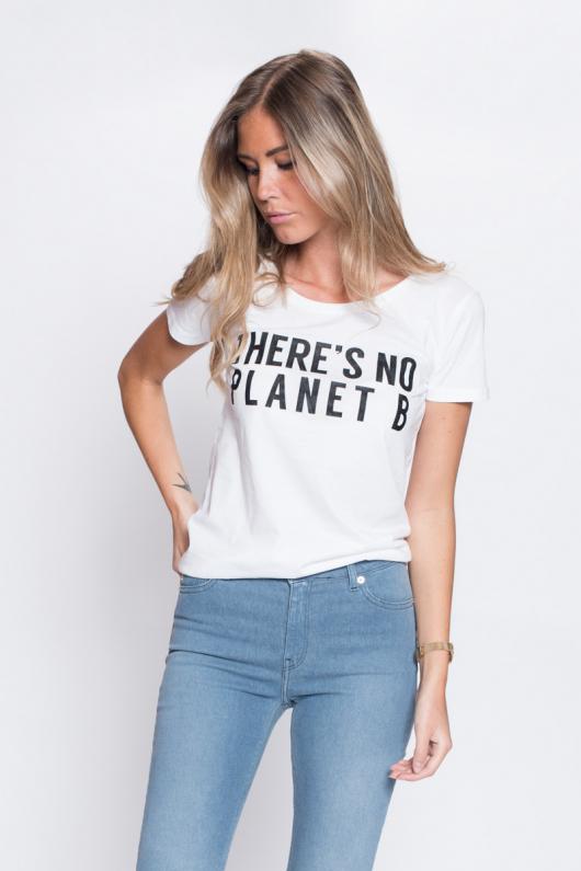 There's No Planet B Feminine - White - XL