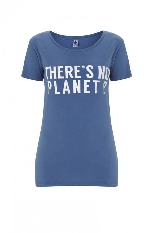 There's No Planet B Feminine - Blue - XL