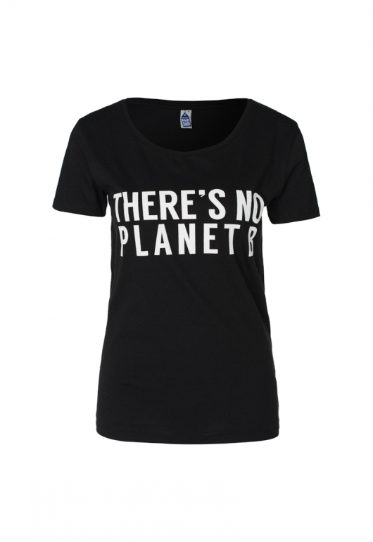 There's No Planet B Feminine - Black - XL