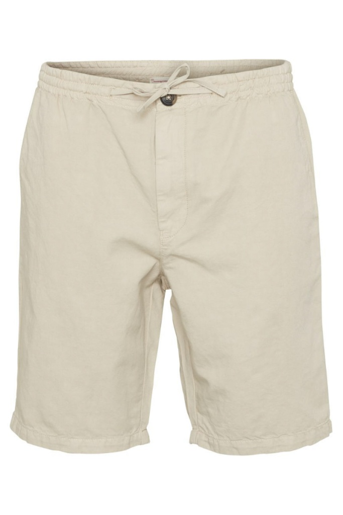 Garment Dyed Shorts - Light Feather Grey