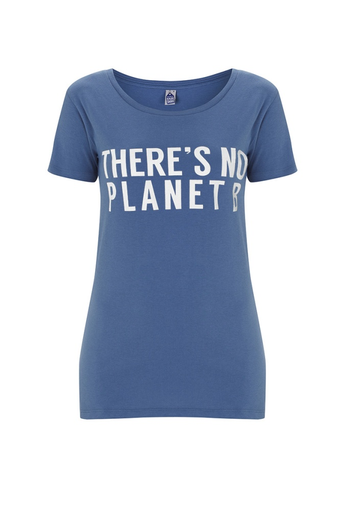 There's No Planet B Feminine - Blue