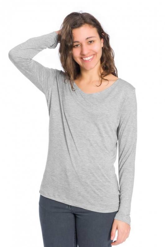 Essential Longsleeve TENCEL™ - Grey - L