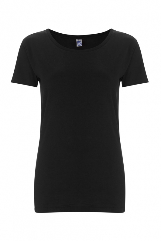Basic Feminine T-shirt - Black - L