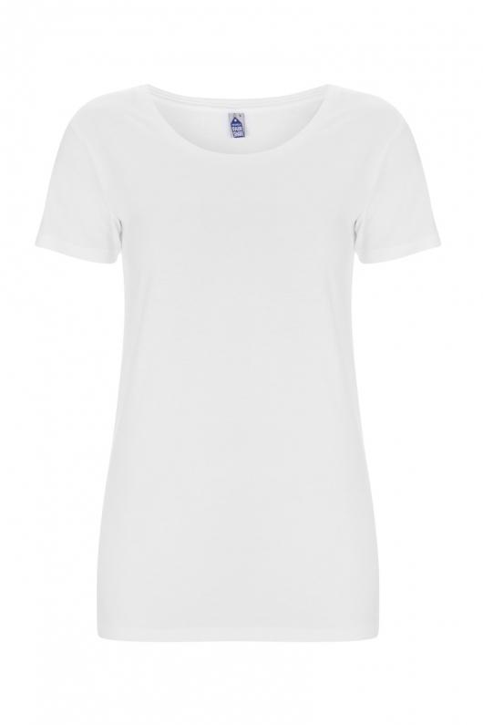 Basic Feminine T-shirt - White - L