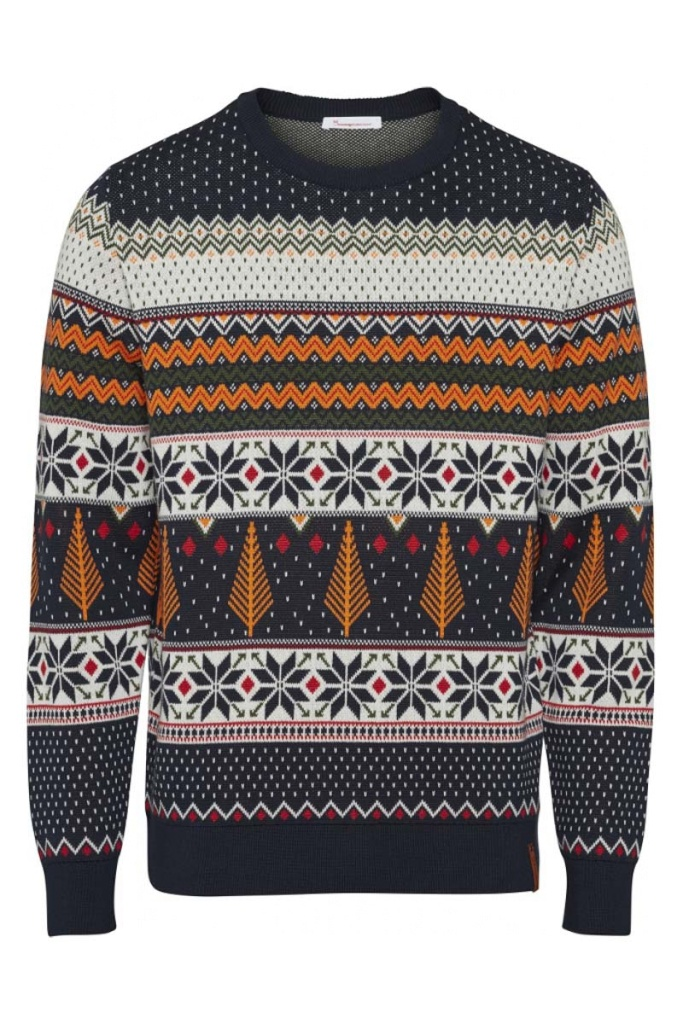 O-neck X-mas Knit - L