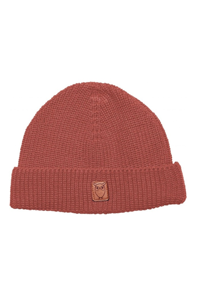 Ribbing Hat - Spiced Coral