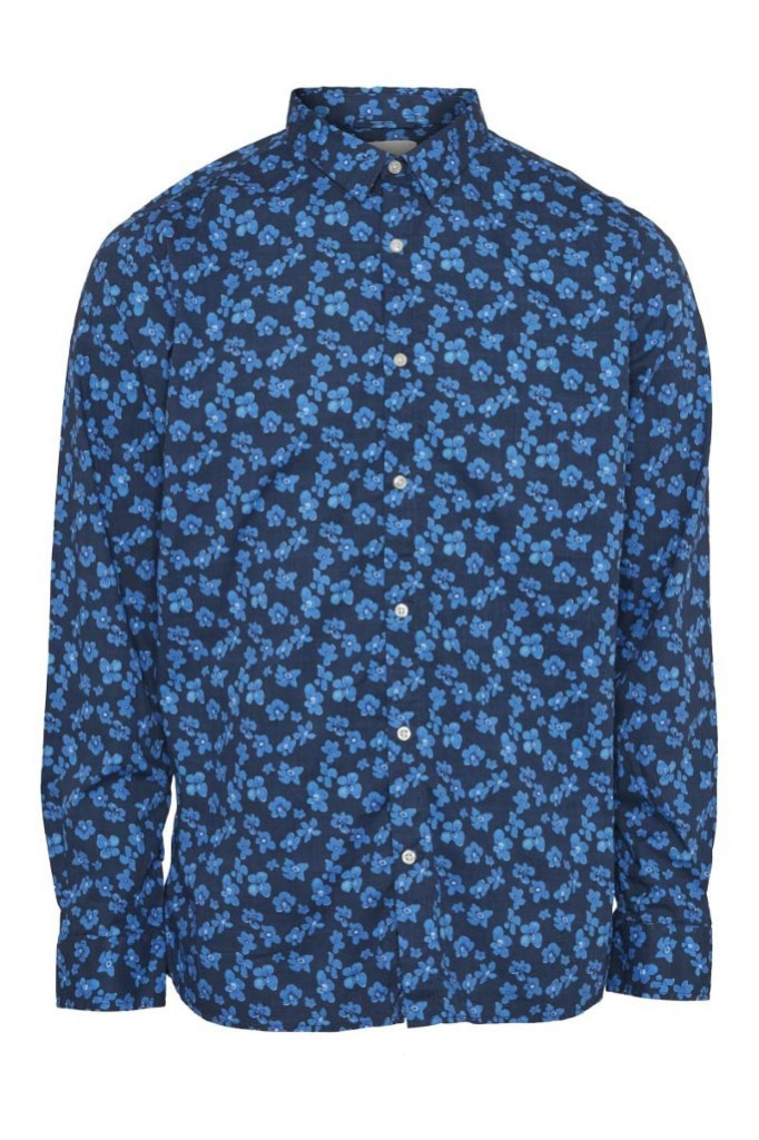 Small Flower All Over Printed Shirt