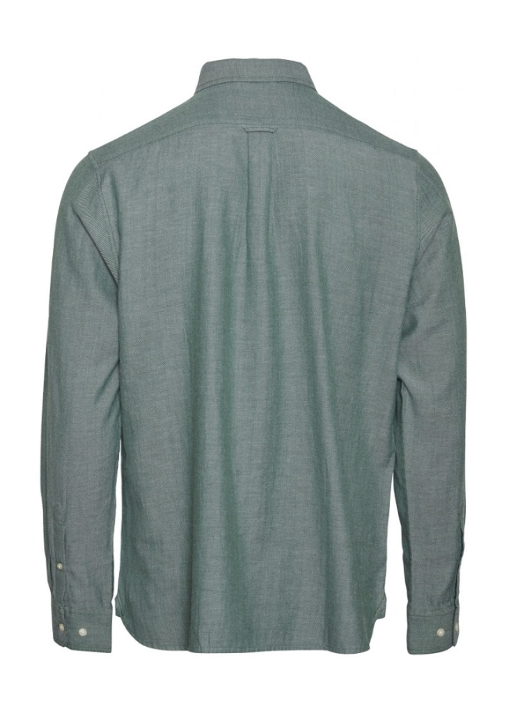 ELDER LS Twill Shirt - Pineneedle