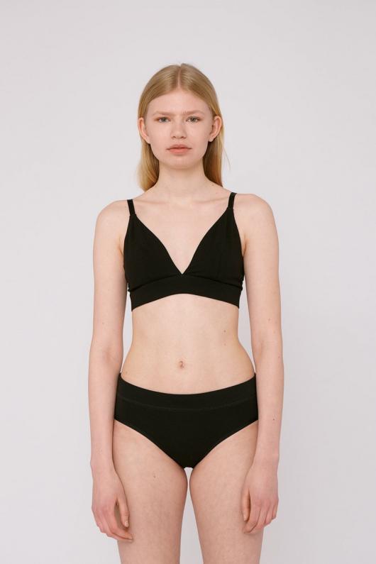 Bikini Briefs 2-Pack - Black - L
