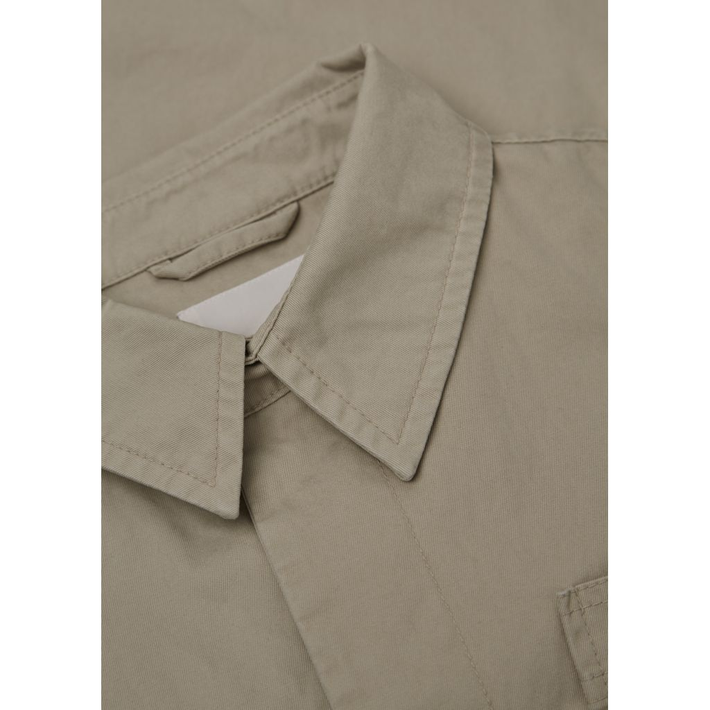 Twill Jacket - Light Feather Gray
