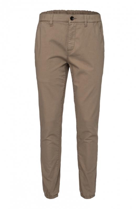 Chino Cuffed Pants - Taupe - L