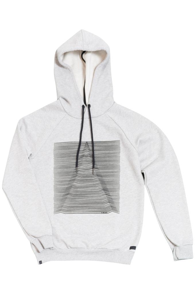 3D Hoodie - Grey Melange