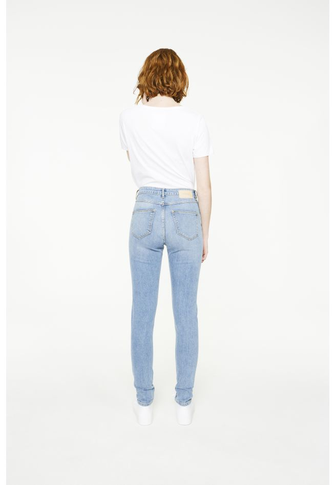 Inga - High Waist Vintage Wash