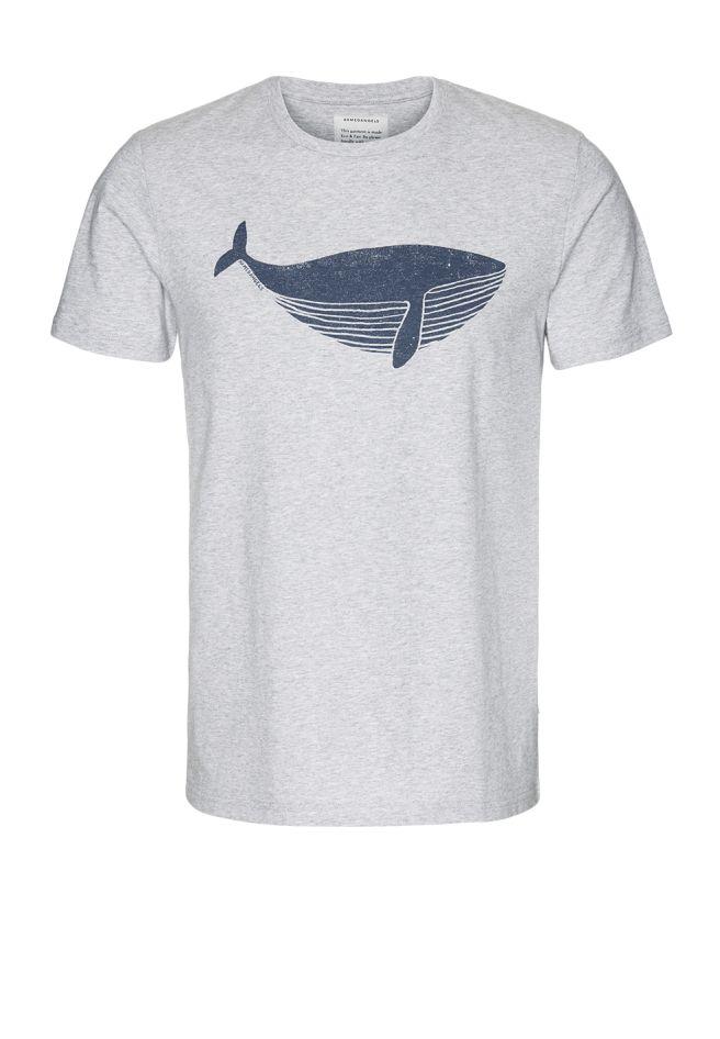 James Big Whale - Grey Melange
