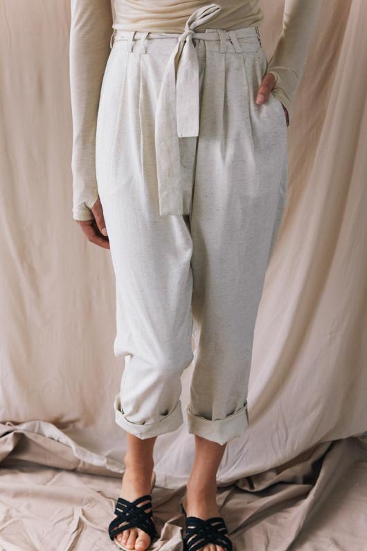 High Waist Trousers - S
