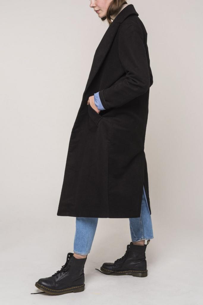 Coat Europa - Black