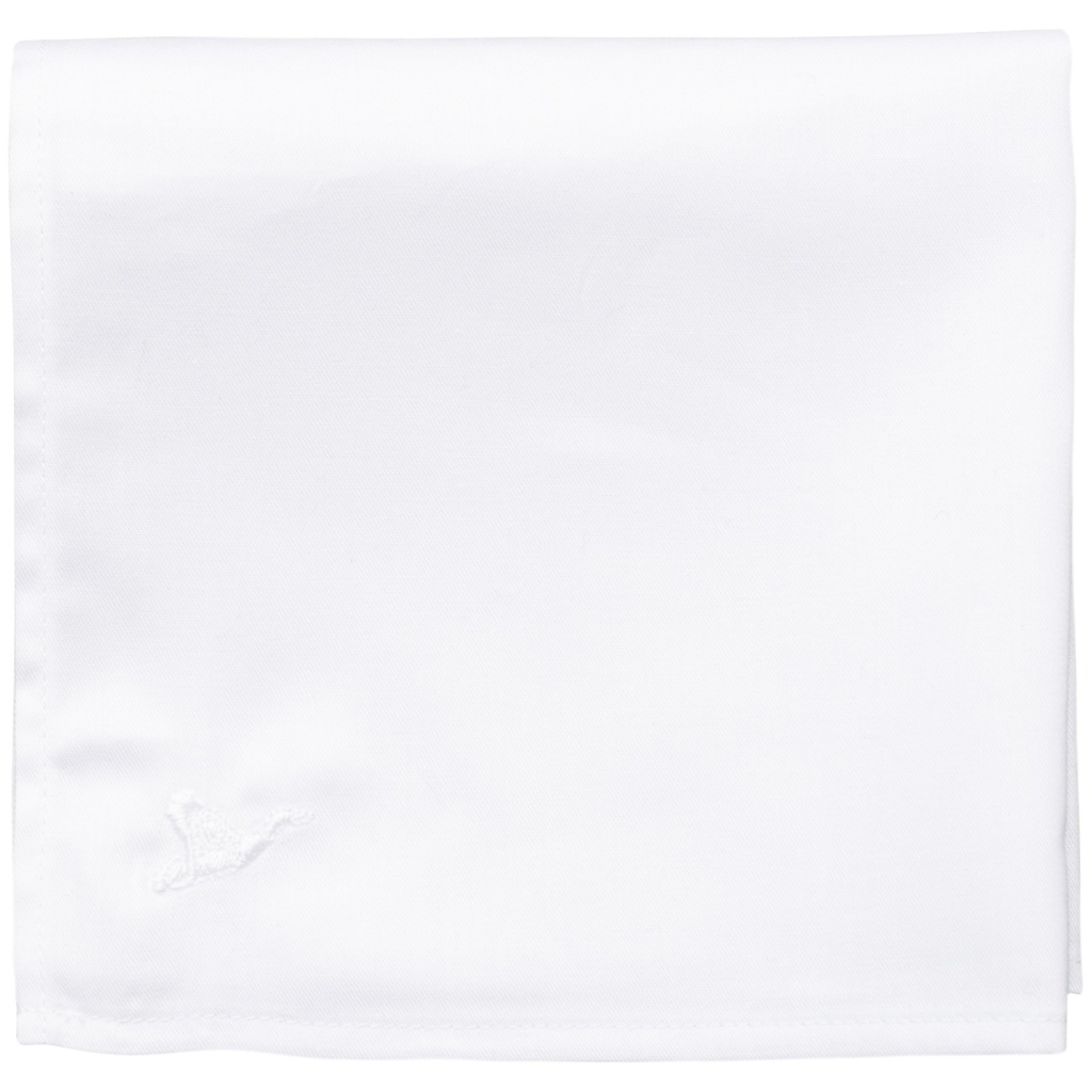 Pocket Sqaure - White