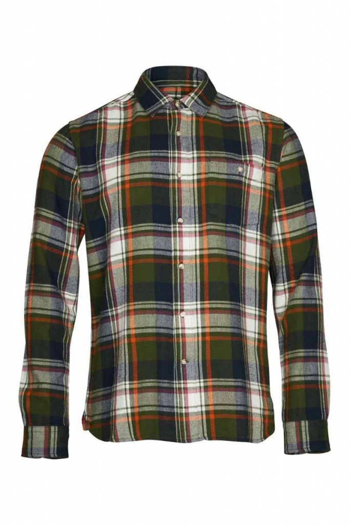 Checked Flanel Shirt