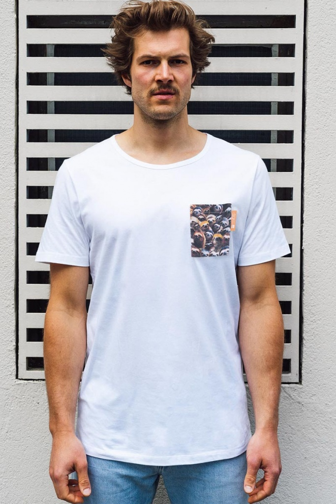 Sloth Pocket - White