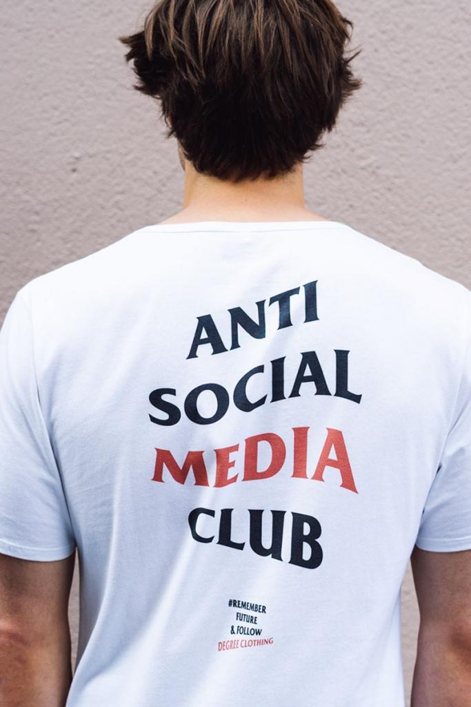Anti Social - White