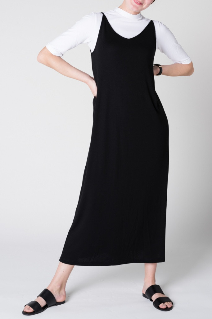 Dress Triangle Midi - Black