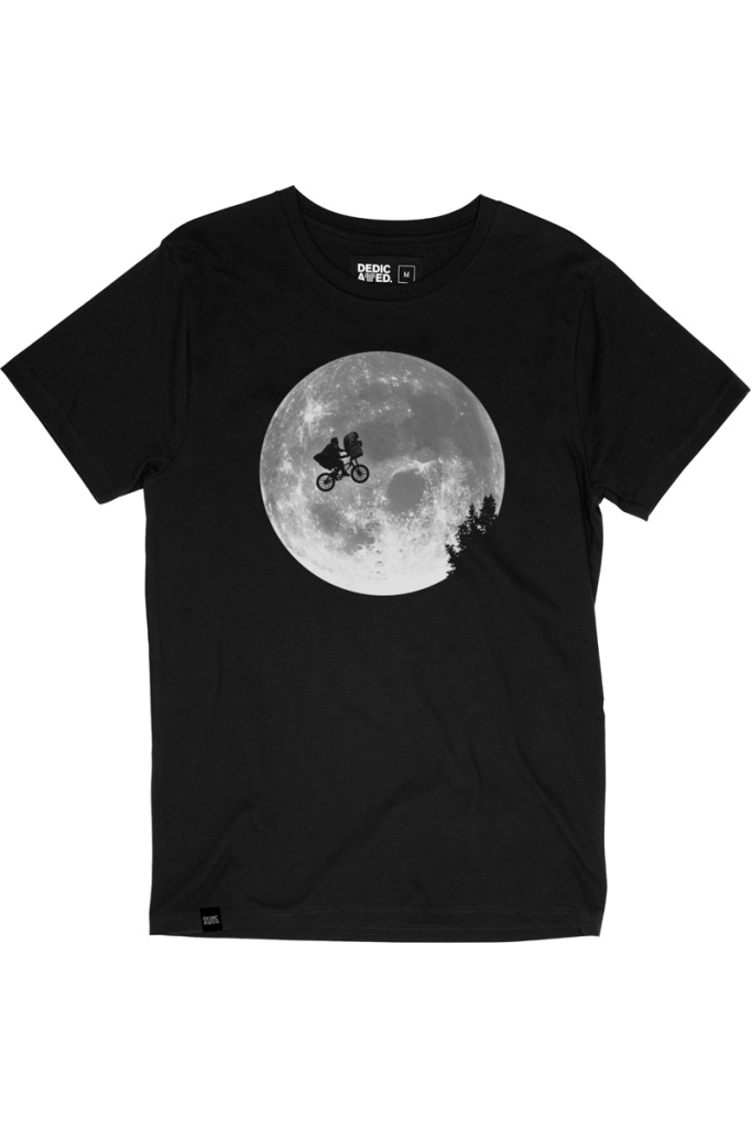 T-Shirt Stockholm ET Moon - Black