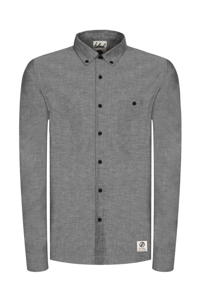 Essential Oxford Shirt - Black