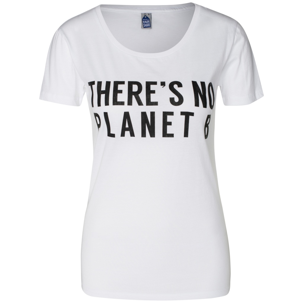 There's No Planet B Feminine - White - XL