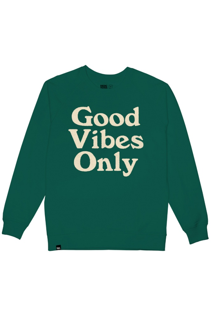Sweatshirt Malmoe GVO Chenille - Evergreen