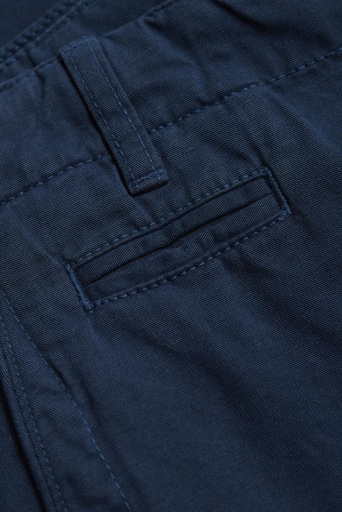 Garment Dyed Chino Pants - Total Eclipse