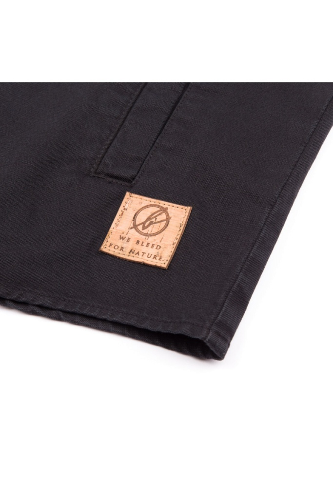 Hemp Shacket - Black